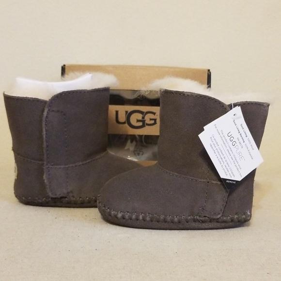 Ugg Baby Girls Caden Booties Grey